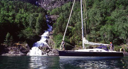 Yacht Charter in Norway Fjords