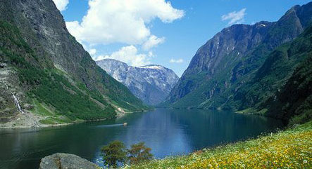Suggested 7 day sailing itinerary sognefjord norway bareboat or